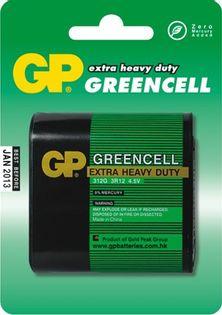 Bateria Płaska Greencell 4.5V 3R12