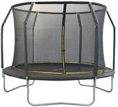 Trampolina Total Sport 305 ring czarno-zółta 10ft siatka bezpieczna