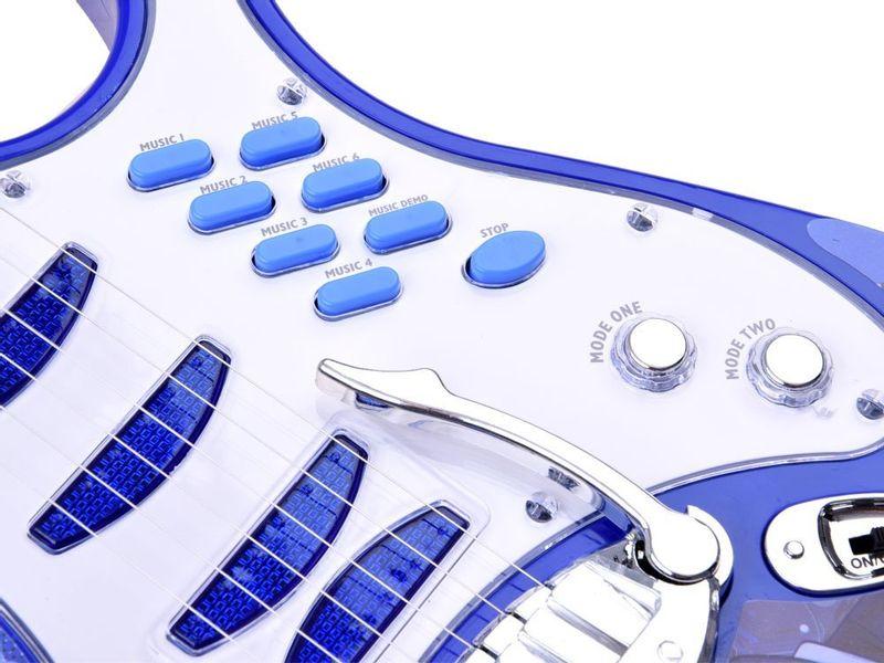 Gitara elektryczna dla dzieci Mikrofon Wzmacniacz IN0018 zdjęcie 3