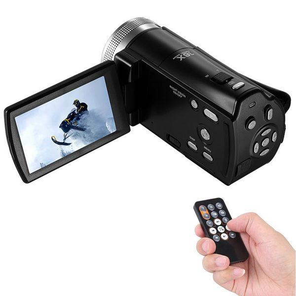 ORDRO DV-12 Kamera cyfrowa z pilotem Full HD 16x Zoom j. polski T237S zdjęcie 3