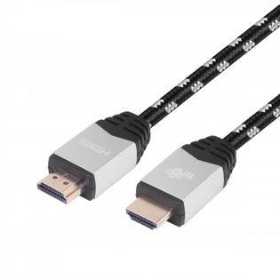 TB Kabel HDMI v 2.0 premium 2 m srebrny