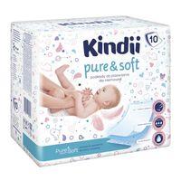 KINDII pure&soft 10szt - podkłady dla niemowląt