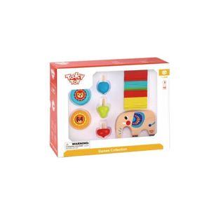 Tooky Toy Zestaw Gier Zręcznościowych 46El.