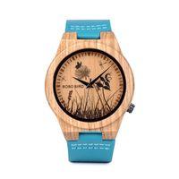 Zegarek drewniany BOBO BIRD P20-6