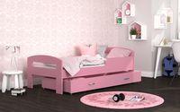 Łóżko dla dzieci GRZEŚ 180x80 + szuflada + materac 4 KOLORY