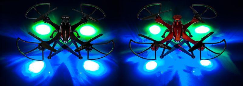 DRON EVOSTAR Explorer RQ77-14W z Kamerą WiFi 6Axis 3Aku Czarny Z25C zdjęcie 8