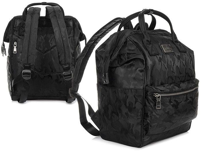 d1aede76 MORO-GRANATOWY plecak TORBA HAROLD'S na laptopa WODOODPORNY T20