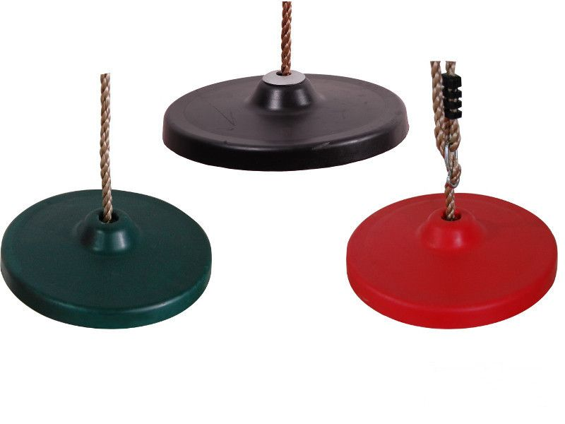 Huśtawka okrągła gumowa na plac zabaw zdjęcie 1