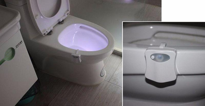 Lampka Led Do Wc Toalety Czujnik Ruchu I światła 6294