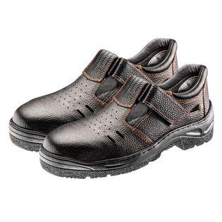 Sandały robocze S1 SRC, skórzane, rozmiar 46