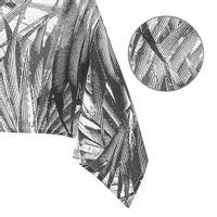 AmeliaHome Obrus drukowany TUCAN 140x250 biały + czarny