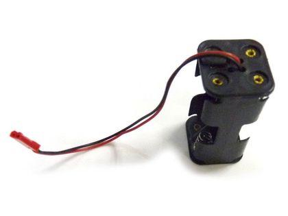 Koszyczek Kostka Na 4 Akumulatory R6/aa Z Wyjściem Jst - Hi02070