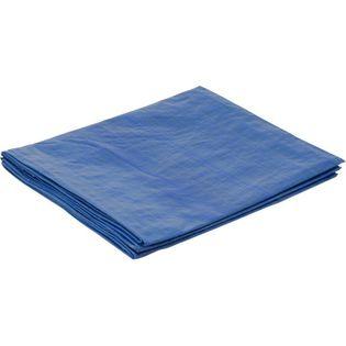 Plandeka 3x7m ochronna, wzmacniana - Niebieska