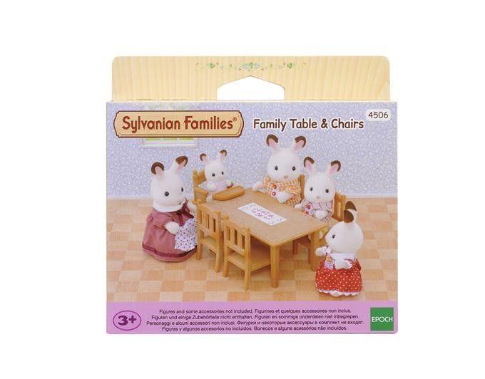 Sylvanian Families Zestaw do jadalni - stół i krzesła zdjęcie 5