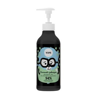 YOPE naturalny żel pod prysznic dla dzieci rumianek i pokrzywa 400ml