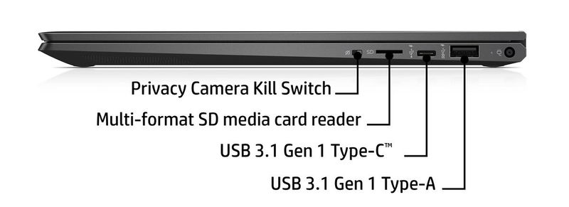 2w1 HP ENVY 13 x360 FullHD IPS AMD Ryzen 5 3500U Quad 8GB DDR4 512GB SSD NVMe Radeon Vega 8 Windows 10 zdjęcie 14