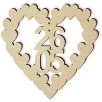 drewniana ozdoba do dekorowania Dzień Matki 26.05