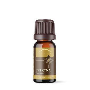 Olejek cytrynowy zimnotłoczony ze skórki 100% eteryczny 10 ml Nanga