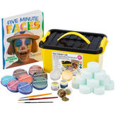 Zestaw BOX 600 farby do malowania twarzy i ciała