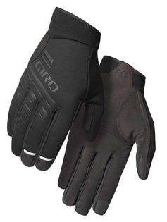 Rękawiczki zimowe GIRO CASCADE długi palec black roz. M (obwód dłoni 170-189 mm / dł. dłoni 161-169 mm) (NEW)