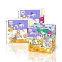 Pieluszki dla dzieci Bella Baby Happy New Flexi Fit Mini BOX 156szt.