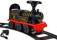 Jeździk Pociąg Lokomotywa Tory na Baterie 6 metrów