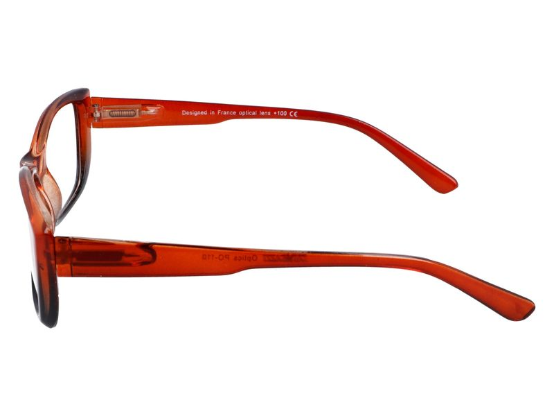 Damskie okulary zastępcze do czytania plusy +1.00 zdjęcie 5