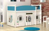 Łóżko piętrowe TWIST ANTRESOLA 190x86 + materac zdjęcie 2