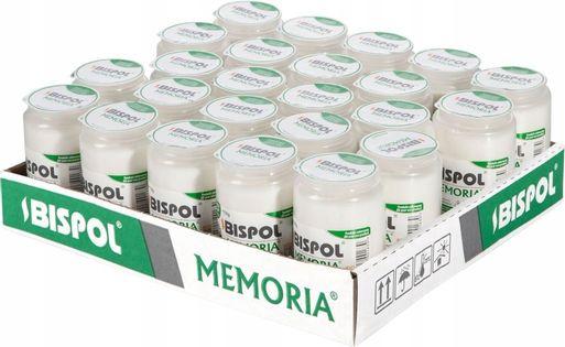 Wkłady do zniczy olejowe BISPOL WO3 60H 24szt.