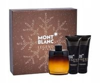 MONT BLANC LEGEND NIGHT EDT 100 ml + 100 ml żel pod prysznic + 100 ml balsam po goleniu