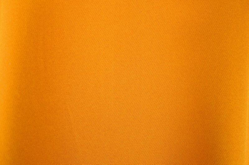05f00231ba Sukienka Trapezowa z Efektowną Falbaną i Kieszeniami - Musztarda Rozmiar -  42 zdjęcie 5