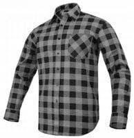 Koszula flanelowa MODAR szara R-46