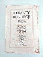 KLIMATY KORUPCJI - Kojder, Sadowski