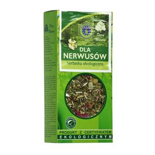 Dla Nerwusów Herbatka Eko 50 G Dary Natury