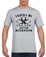 Koszulka męska ZAUWAJ MI JESTEM MECHANIKIEM s XL