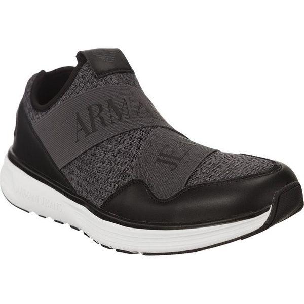 b44377464ba6d Armani Jeans Man Woven Sneaker 9350607a406 00748 Rozmiar - 43 • Arena.pl