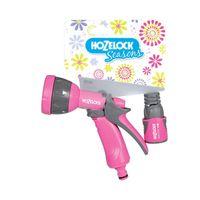 Hozelock 2676 Pistolet uniwersalny ze złączką ze stopem różowe
