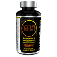 Power of Nature Acetyl L-carnitine 500mg 100k