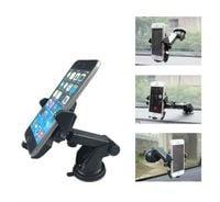 Uchwyt samochodowy na telefon smartfon do kokpitu deski (chropowaty)
