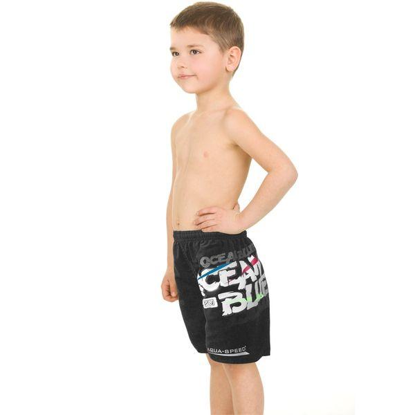 Szorty pływackie DAVID Kolor - Stroje męskie - David - 07 - czarny, Rozmiar - Stroje dziecięce - 134-140 (7/8A) zdjęcie 1