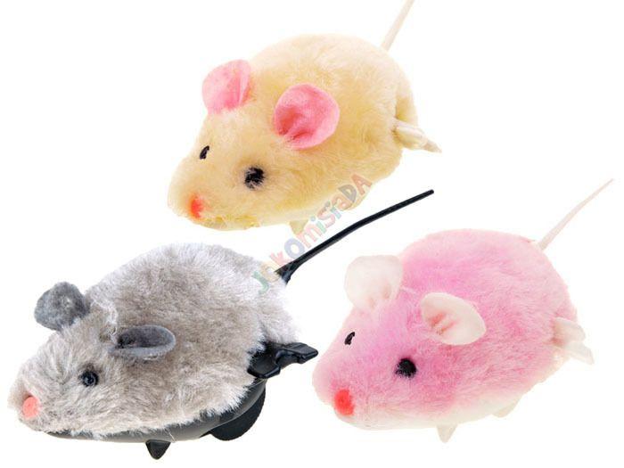 Nakręcana MYSZKA dla dziecka i kotka mysz ZA0838 zdjęcie 1