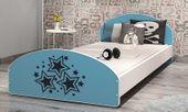 Łóżko młodzieżowe CROSS 200x90