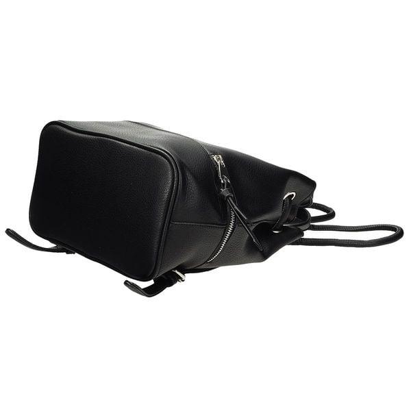 ec07fd004ba25 Stylowy plecak damski worek czarny skórzany • Arena.pl