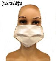 maska ochronna na twarz maseczka z gumką podwójna tkanina Medical