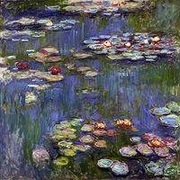 Reprodukcje obrazów Water Lilies_3 - Claude Monet Rozmiar - 40x40