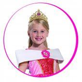 KSIĘŻNNICZKA Strój na Bal 104 KRÓLEWNA Barbie zdjęcie 2
