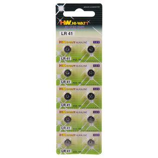 Baterie LR 41 (guzikowe) blister 10 szt