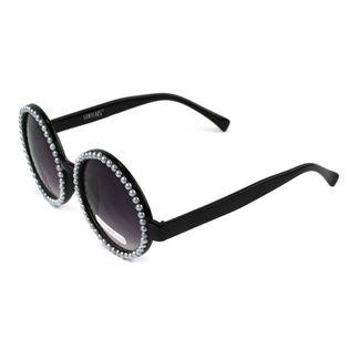 Okulary przeciwsłoneczne Ombre Round Perły DUŻE