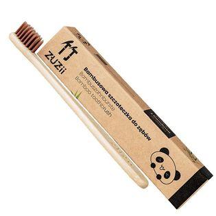 Bambusowa Szczoteczka Do Zębów Dla Dzieci Brązowa Zuzii