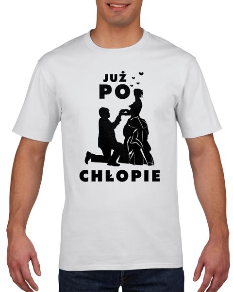 Koszulka męska WIECZOR KAWALERSKI PO CHLOPE L na Arena.pl